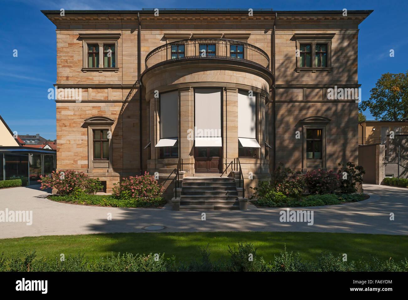 Villa Wahnfried, home of Richard Wagner, 1813-1883, Bayreuth, Upper Franconia, Bavaria, Germany Stock Photo