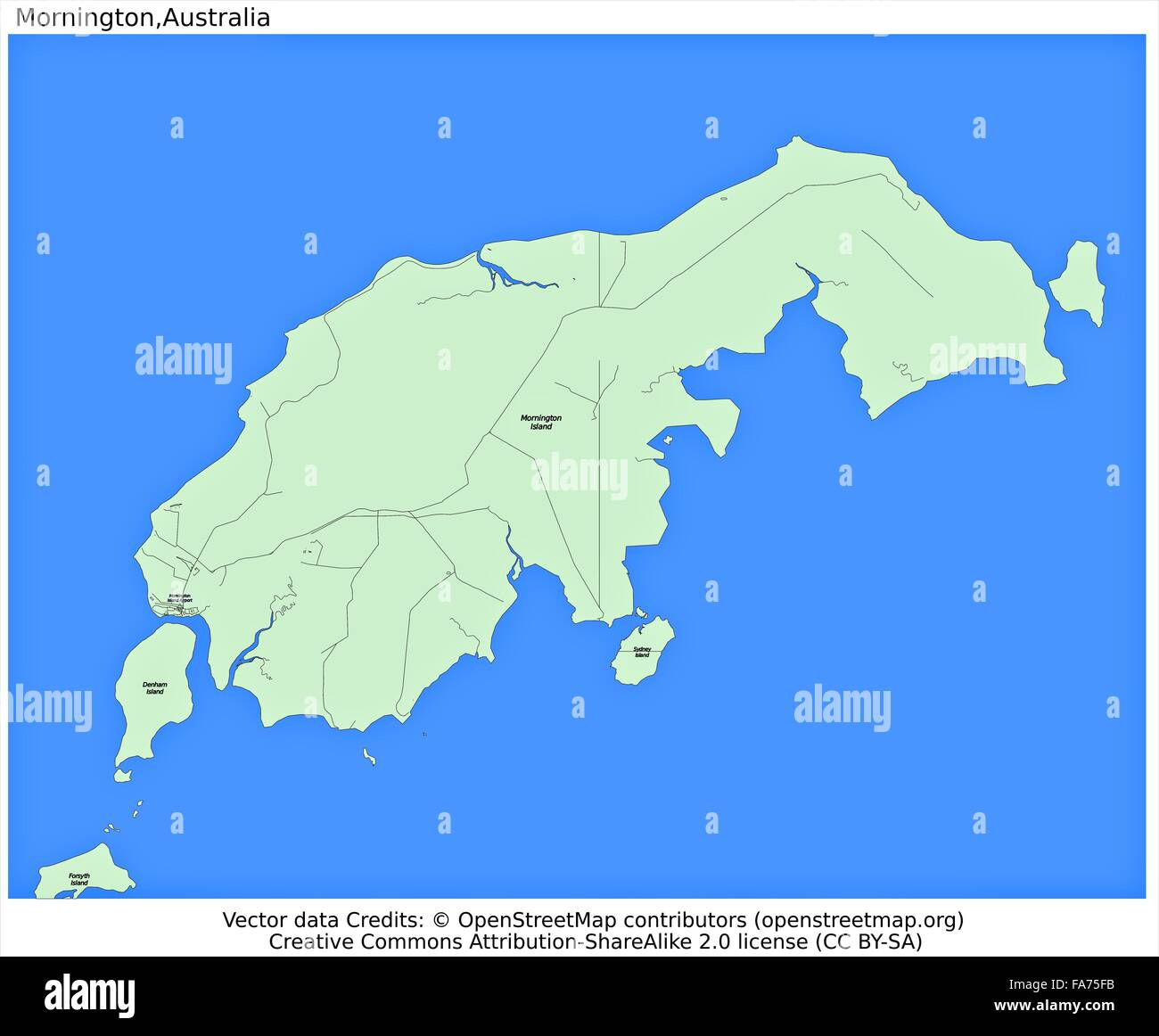 Australia Location Map.Mornington Australia Location Map Stock Photo 92356415 Alamy