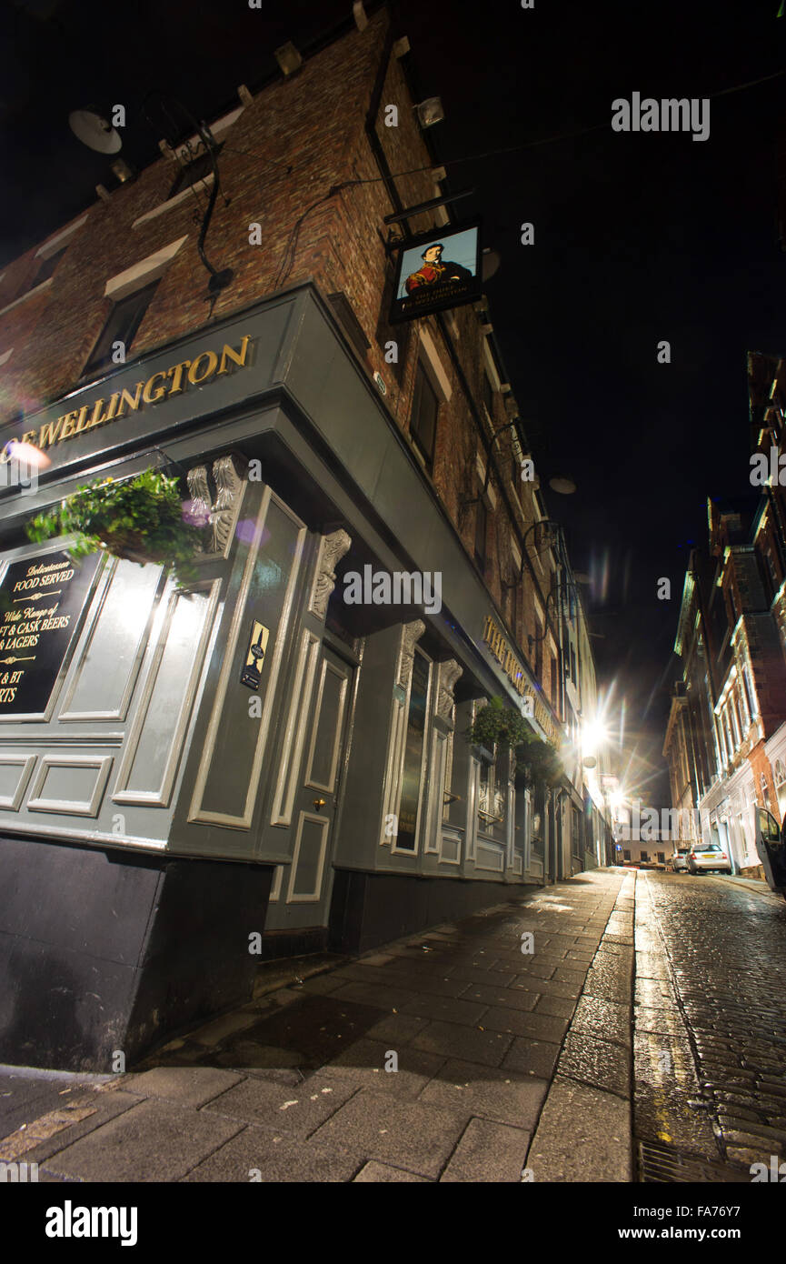 The Duke of Wellington pub, High Bridge,Newcastle upon Tyne - Stock Image