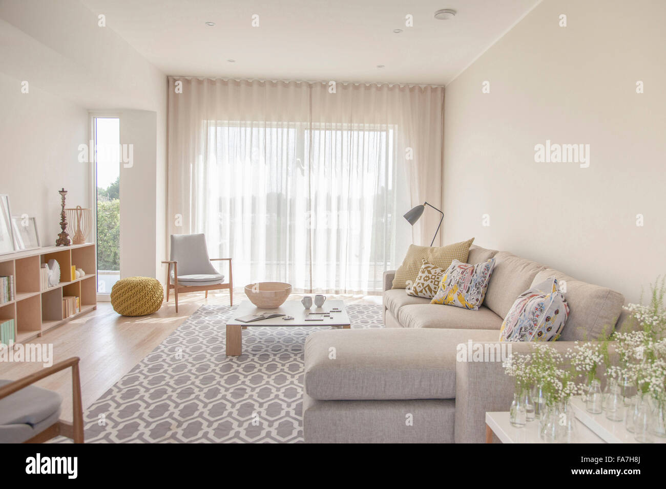 Country Living Room Modern Stock Photos & Country Living Room Modern ...