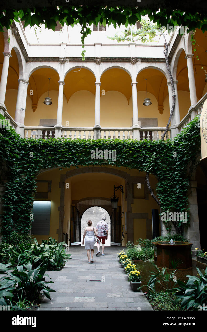 Barri Gotic, Archivo de  la Corona de Aragon, Barcelona, Spain, Europe - Stock Image