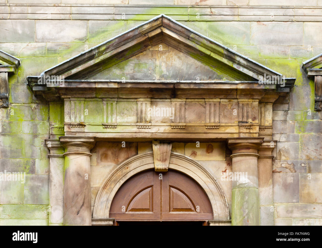 Detail of a pediment above a door in the Palladian courtyard at Lyme Park Cheshire & Door Pediment Stock Photos \u0026 Door Pediment Stock Images - Alamy