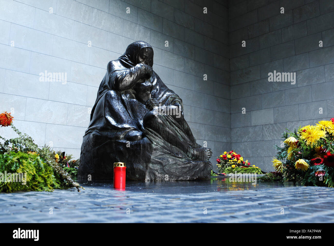 Central Memorial of the Federal Republic of Germany for the Victims of War and Tyranny in Berlin, Germany. - Stock Image