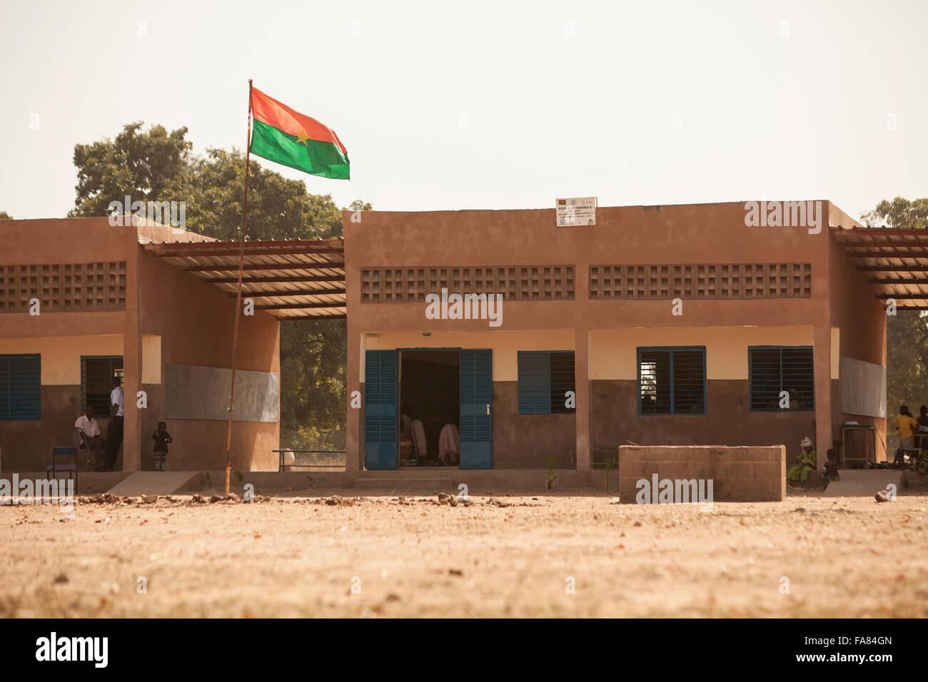 Students learn at Kouka Primary School in Kouka Department, Burkina Faso. - Stock Image