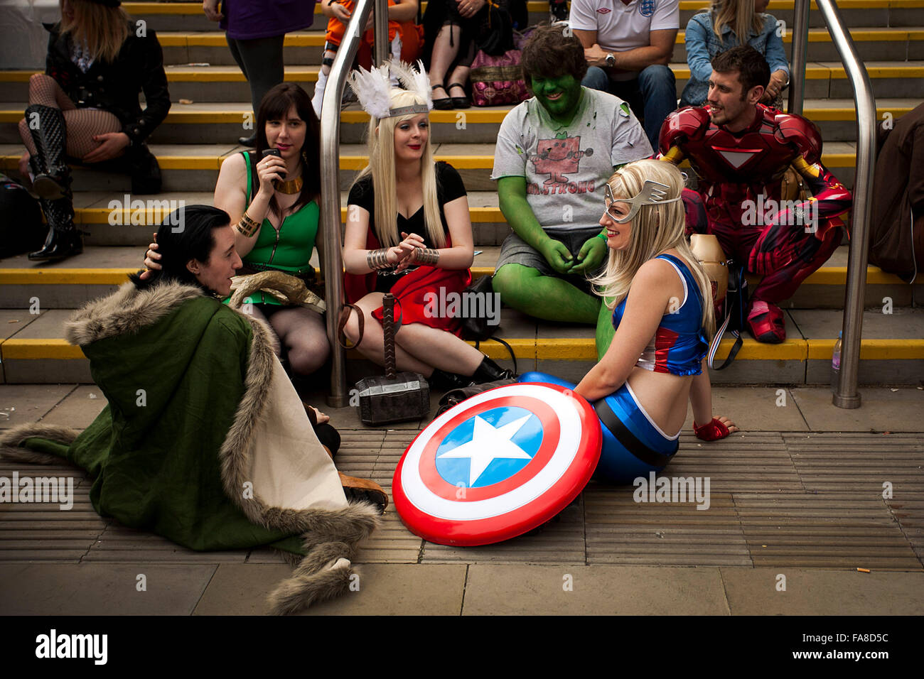 Comic Con at Manchester Central . Saturday 21/7/12 . - Stock Image