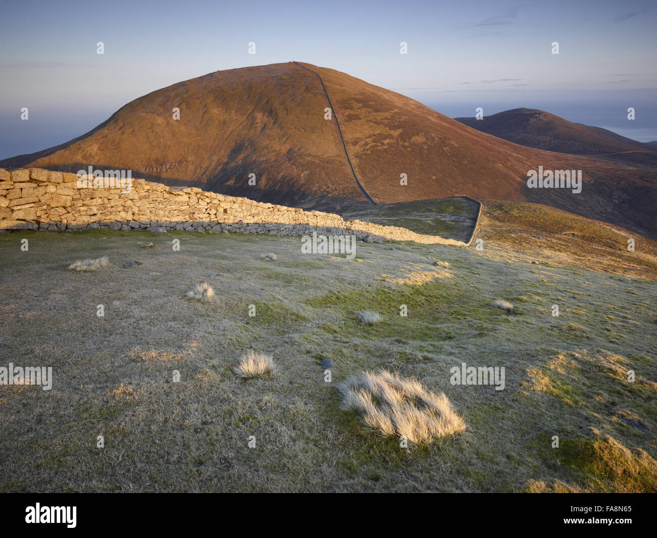 Slieve Donard, Mourne Mountains, County Down, Northern Ireland. Slieve Donard is the highest mountain in Northern Stock Photo