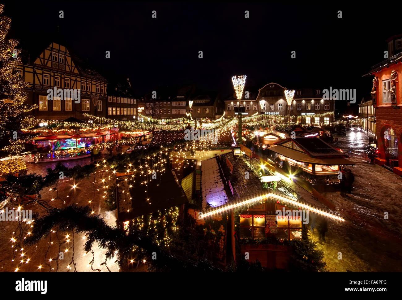 Goslar Weihnachtsmarkt.Goslar Weihnachtsmarkt Goslar Christmas Market 03 Stock