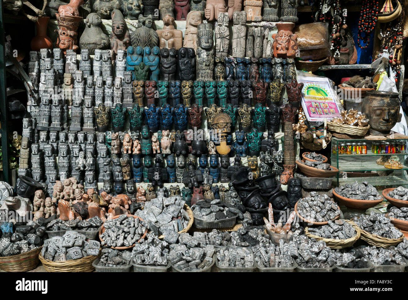 Witches Market In La Paz Bolivia South America Stock Photo Alamy