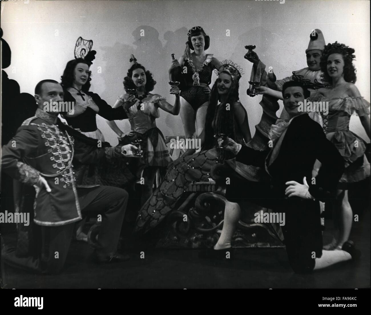 1968 - Ballet at the Windmill: Ballet is a typical feature of every Windmill show. Here is a group from ''Bal - Stock Image