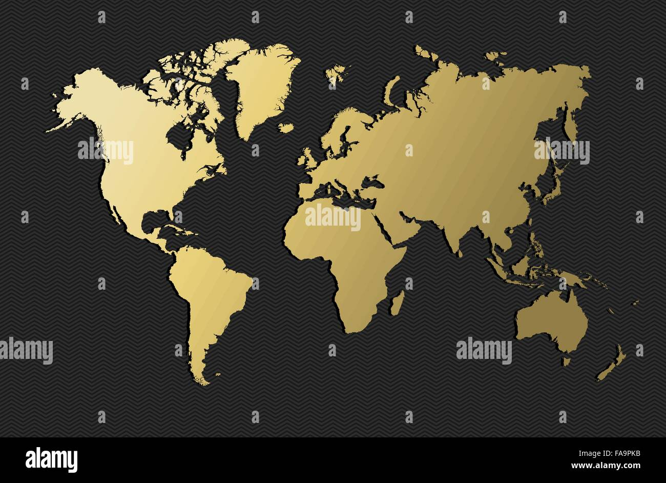 Empty world map silhouette in gold color concept illustration empty world map silhouette in gold color concept illustration eps10 vector gumiabroncs