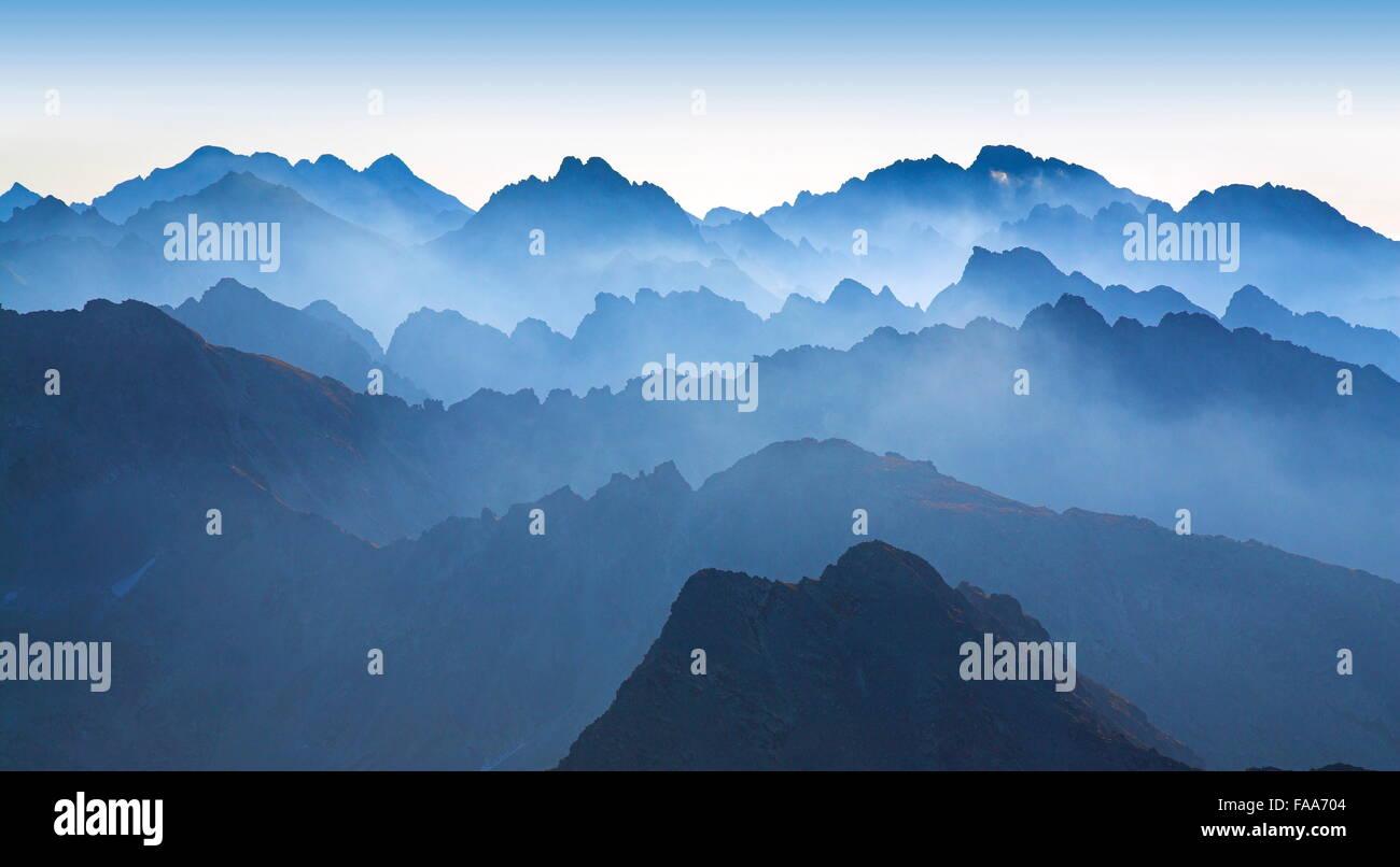 Tatra Mountains Slovakia - Stock Image