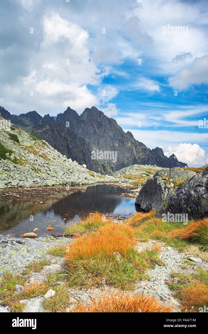 Sesterske lake, Tatra Mountains, Slovakia - Stock Image