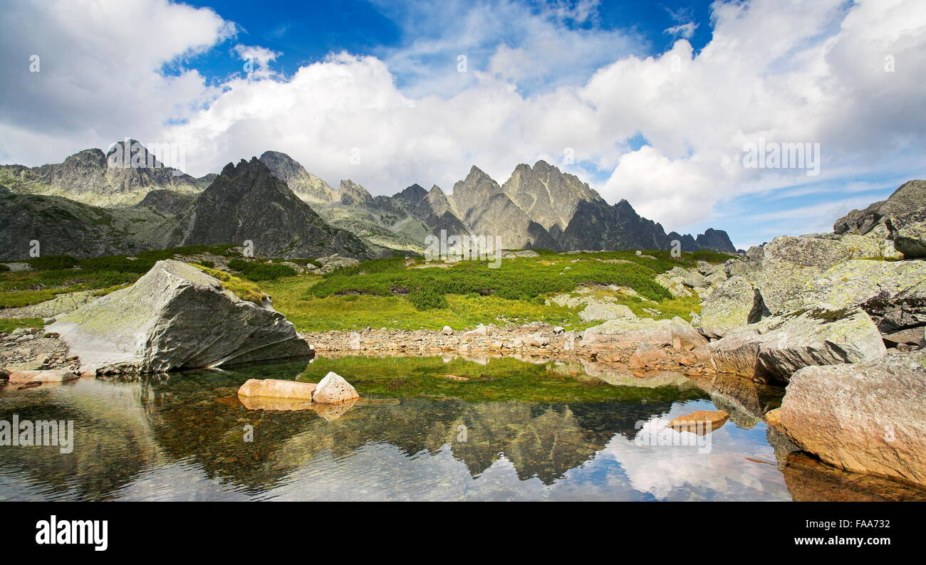 Vareskove lake, Tatra Mountains, Slovakia - Stock Image