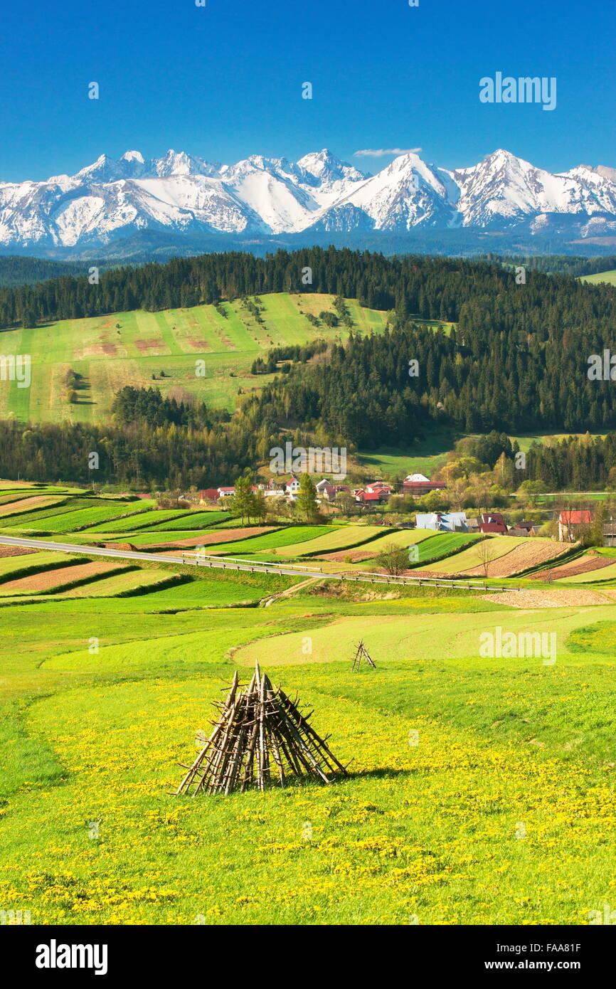 Tatra Mountains, Poland - Stock Image