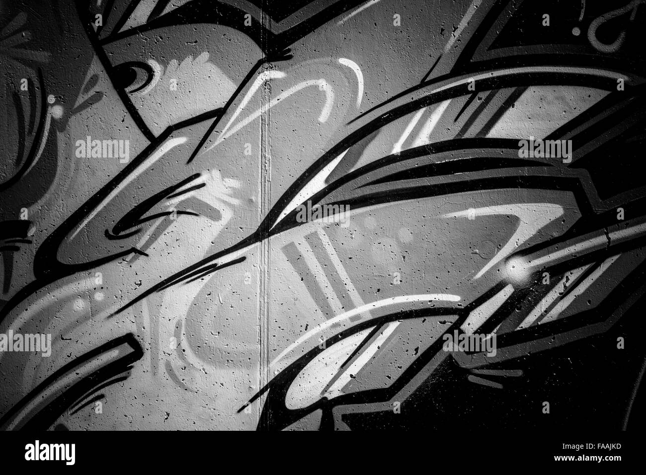 Red Graffiti Wallpaper Black And White Stock Photos Images