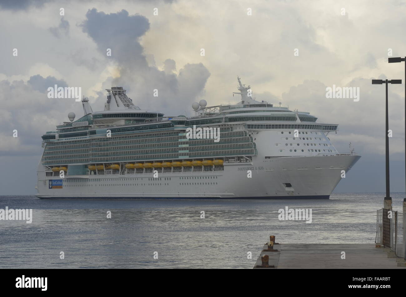 Royal Caribbean Independence of the Seas. - Stock Image