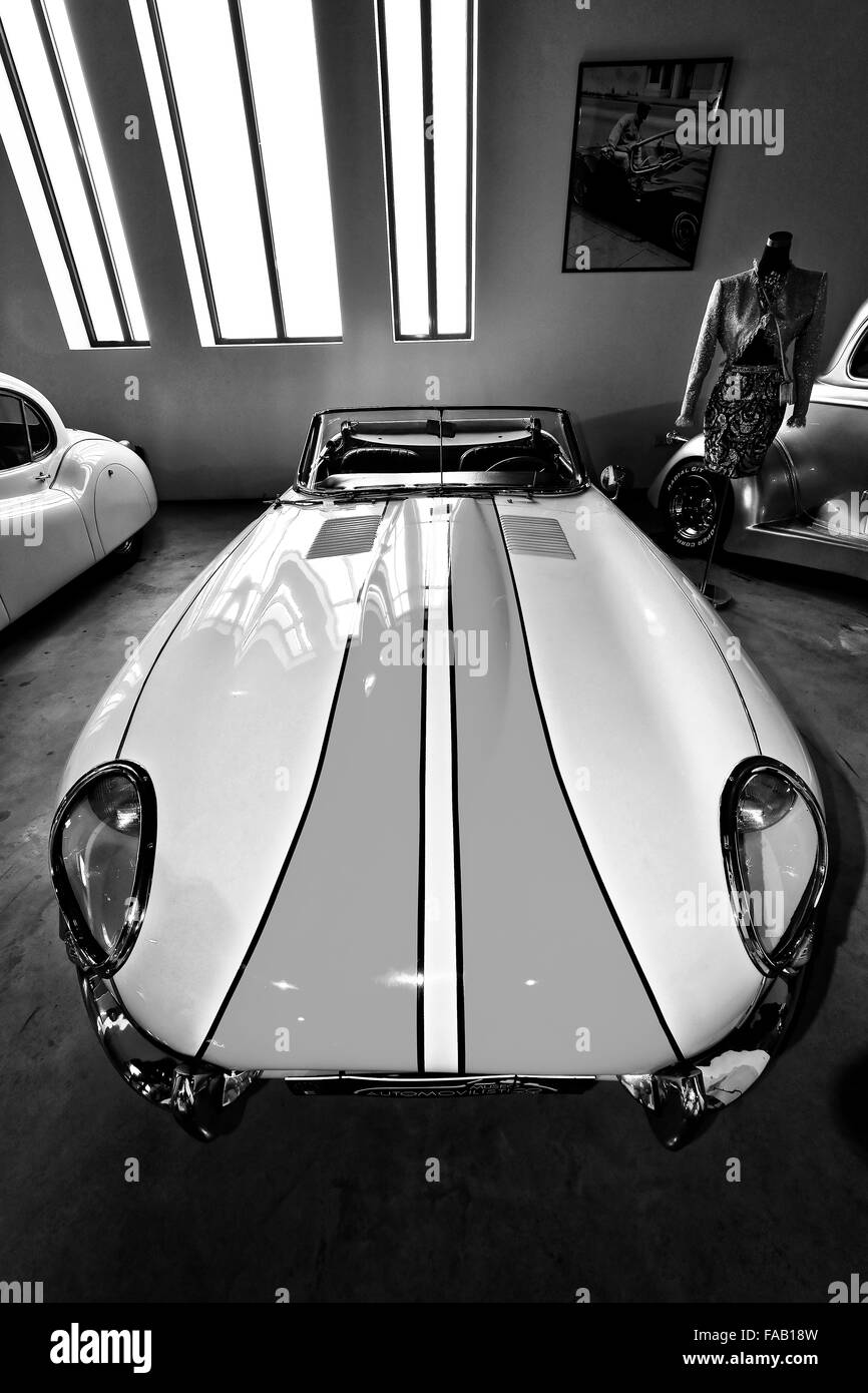 Spain Automovilistico De Malaga E Type Jaguar - Stock Image