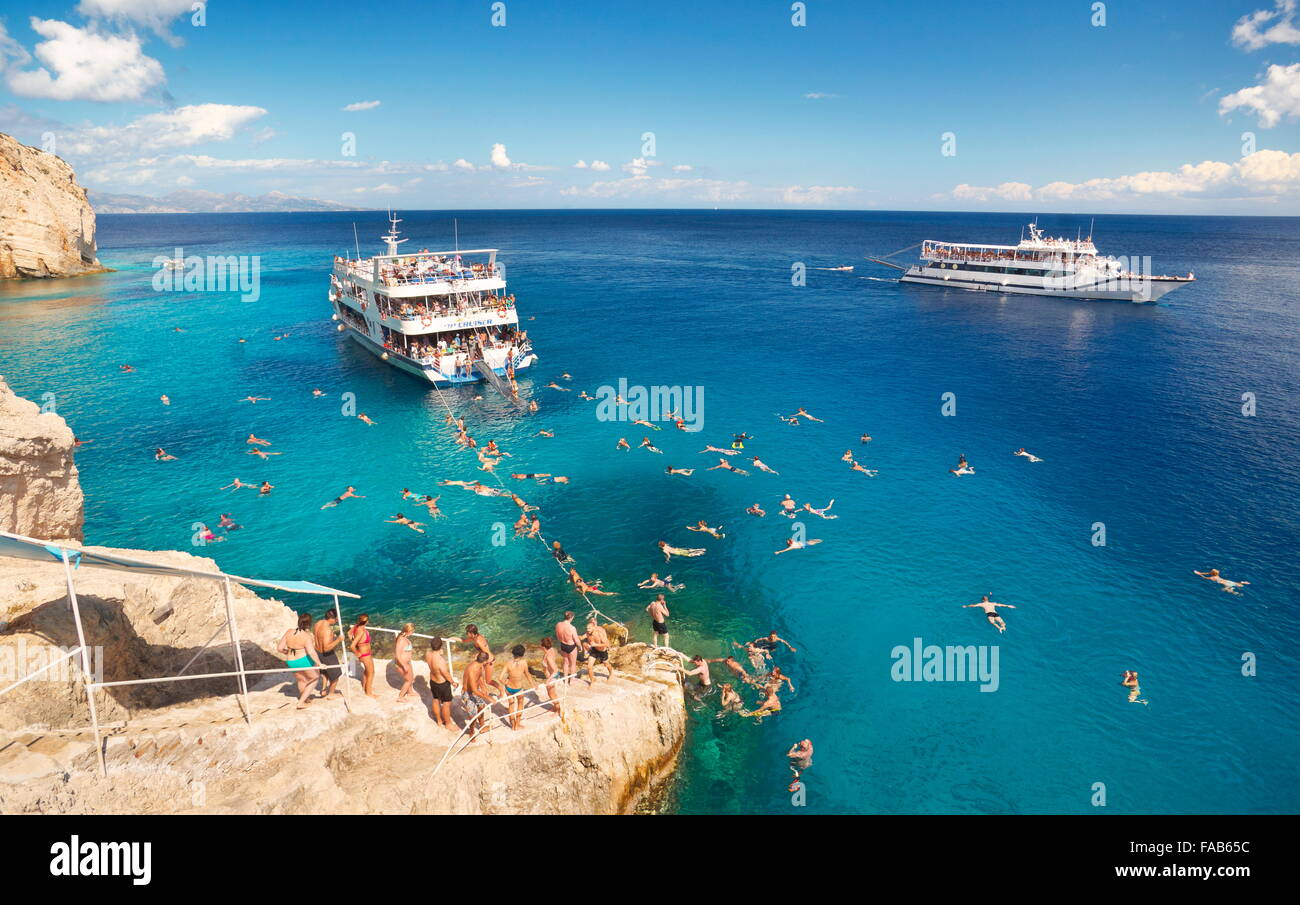 Zakynthos Island, Greece Stock Photo