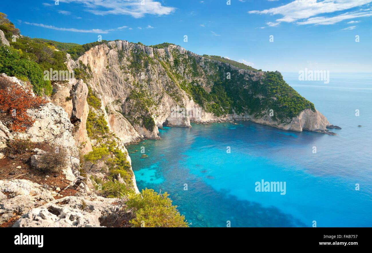 Greece - Zakynthos Island, Ionian Sea, Keri Cape - Stock Image