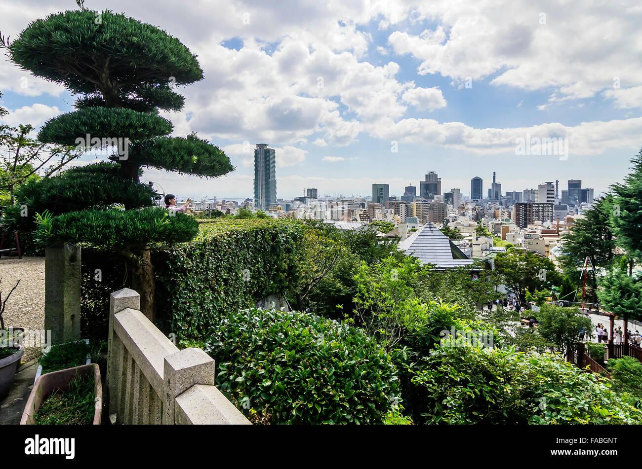 View of Kobe, Japan - Stock Image