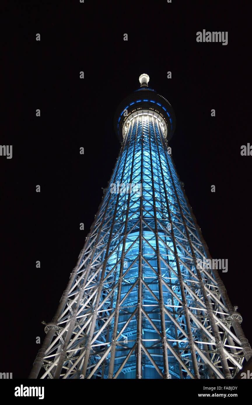 Tokyo Sky Tree - Stock Image