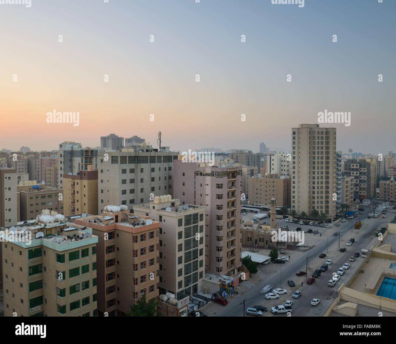 Mahboula, Kuwait - Stock Image