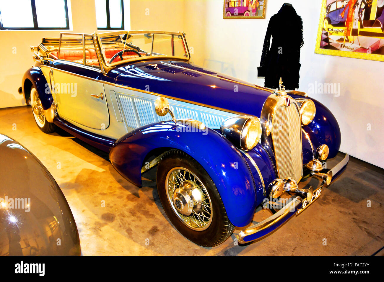 Spain Automovilistico De Malaga 1937 Talbot The Diva - Stock Image