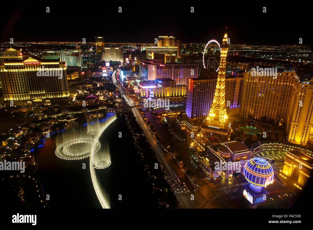 Las Vegas, Nevada. - Stock Image