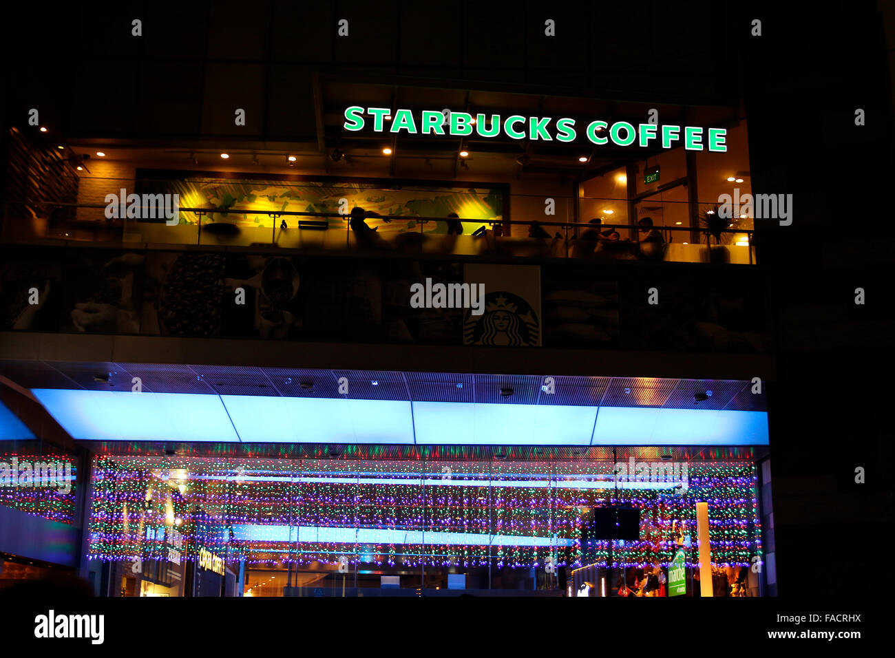 Starbucks Coffeehouse - Stock Image