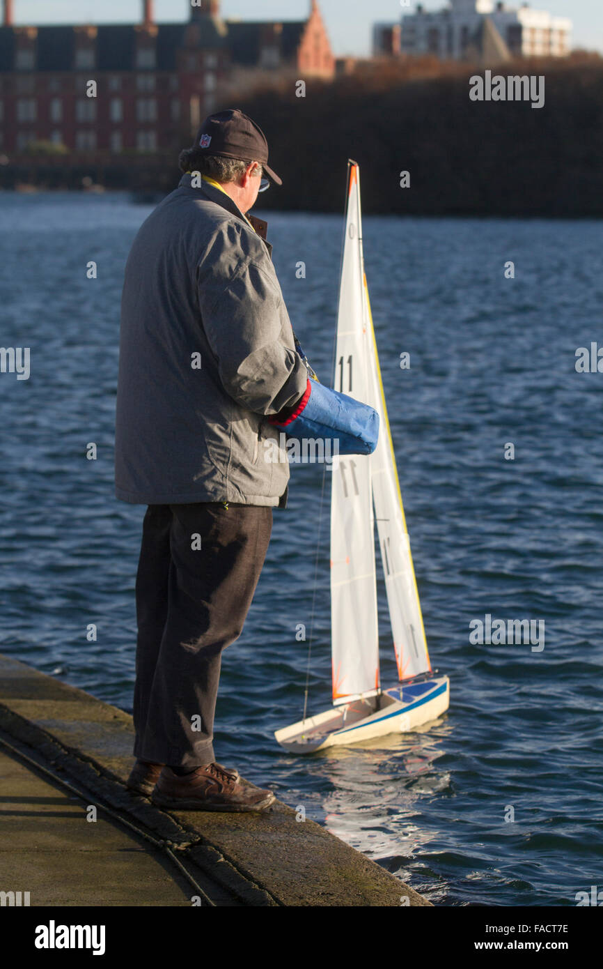 Over the Christmas weekend 2015 top radio control sailing skippers