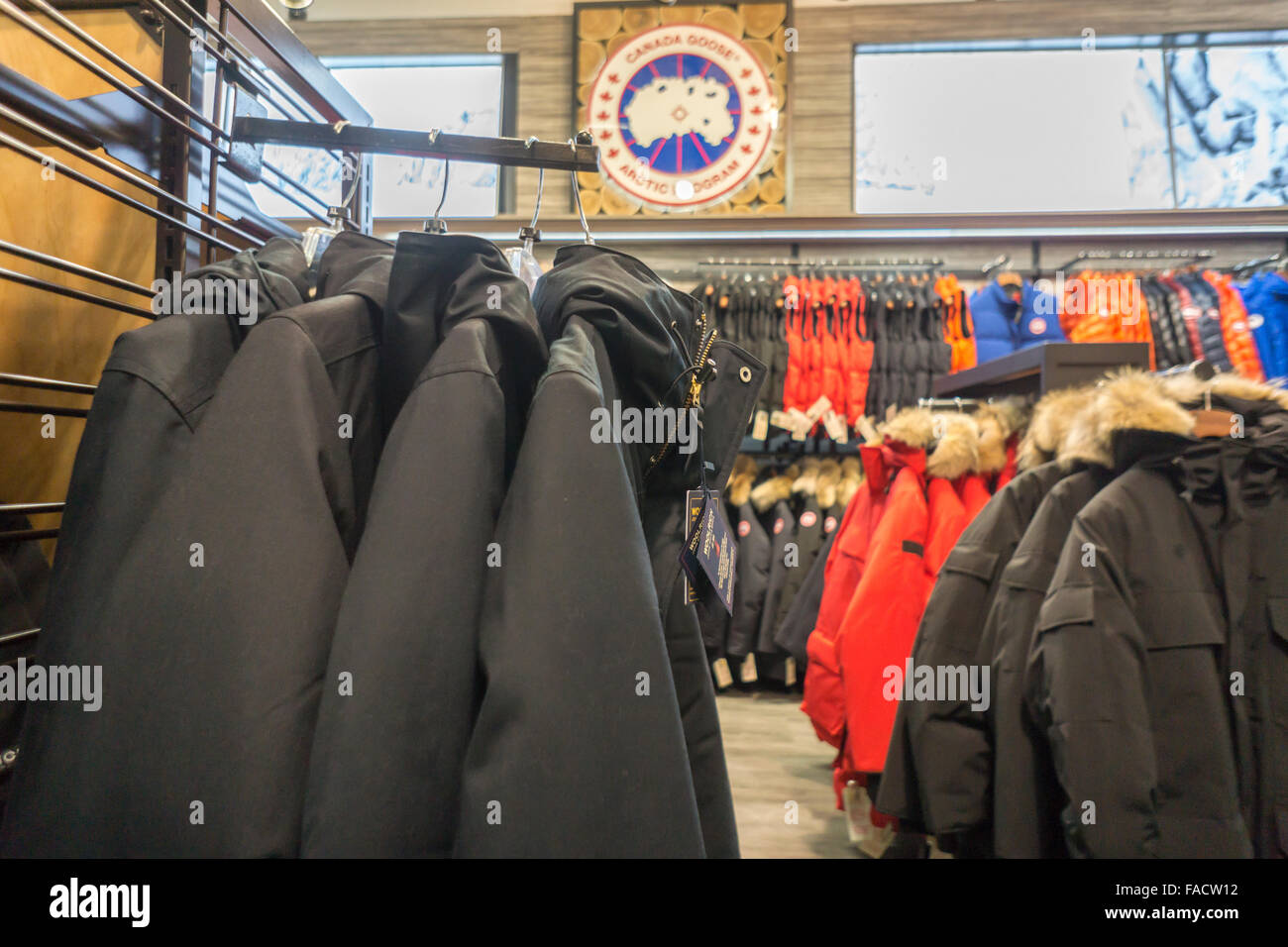 canada goose retailers in nyc