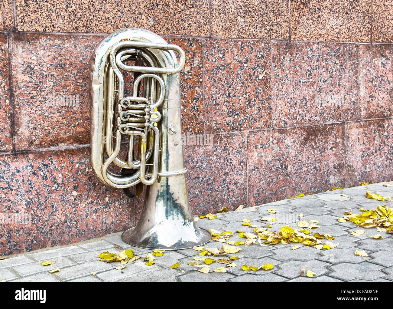 Wind musical instrument - Stock Image