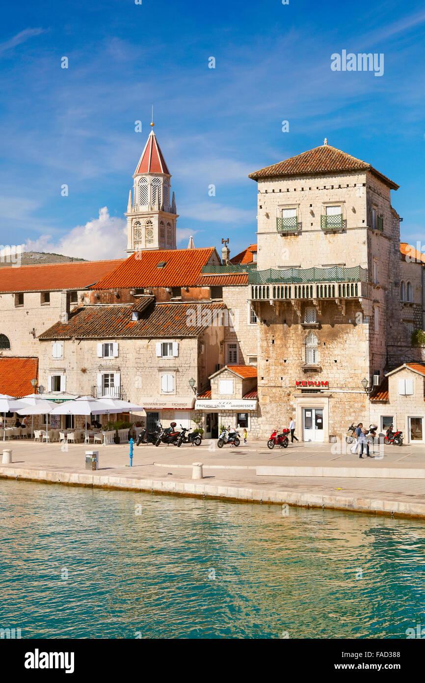 Trogir city, Croatia, Europe Stock Photo