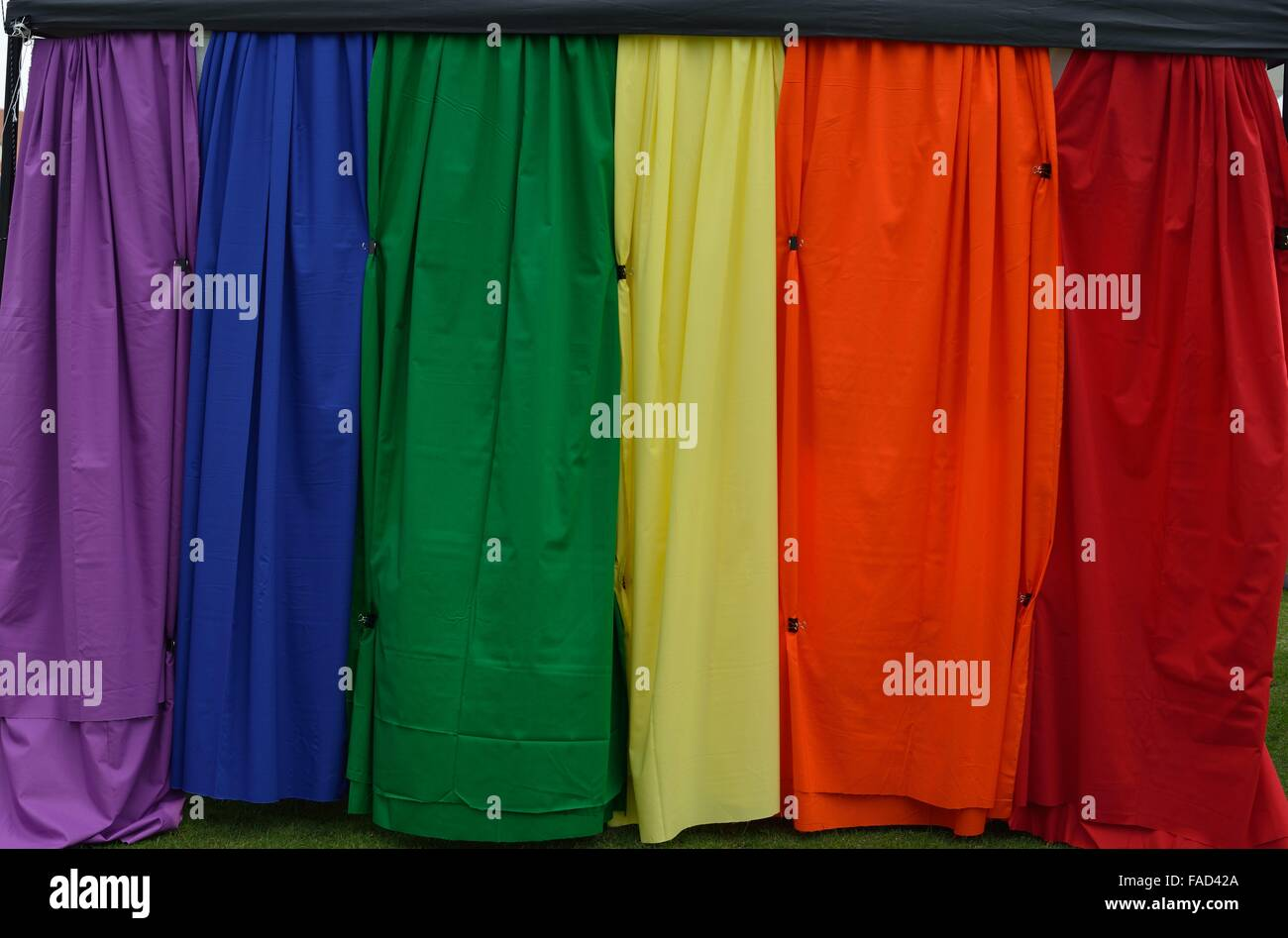 Varied Colors Screen - Stock Image