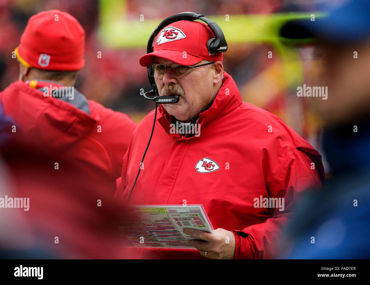 4463202154b City Chiefs Head Coach Andy Stock Photos   City Chiefs Head Coach ...