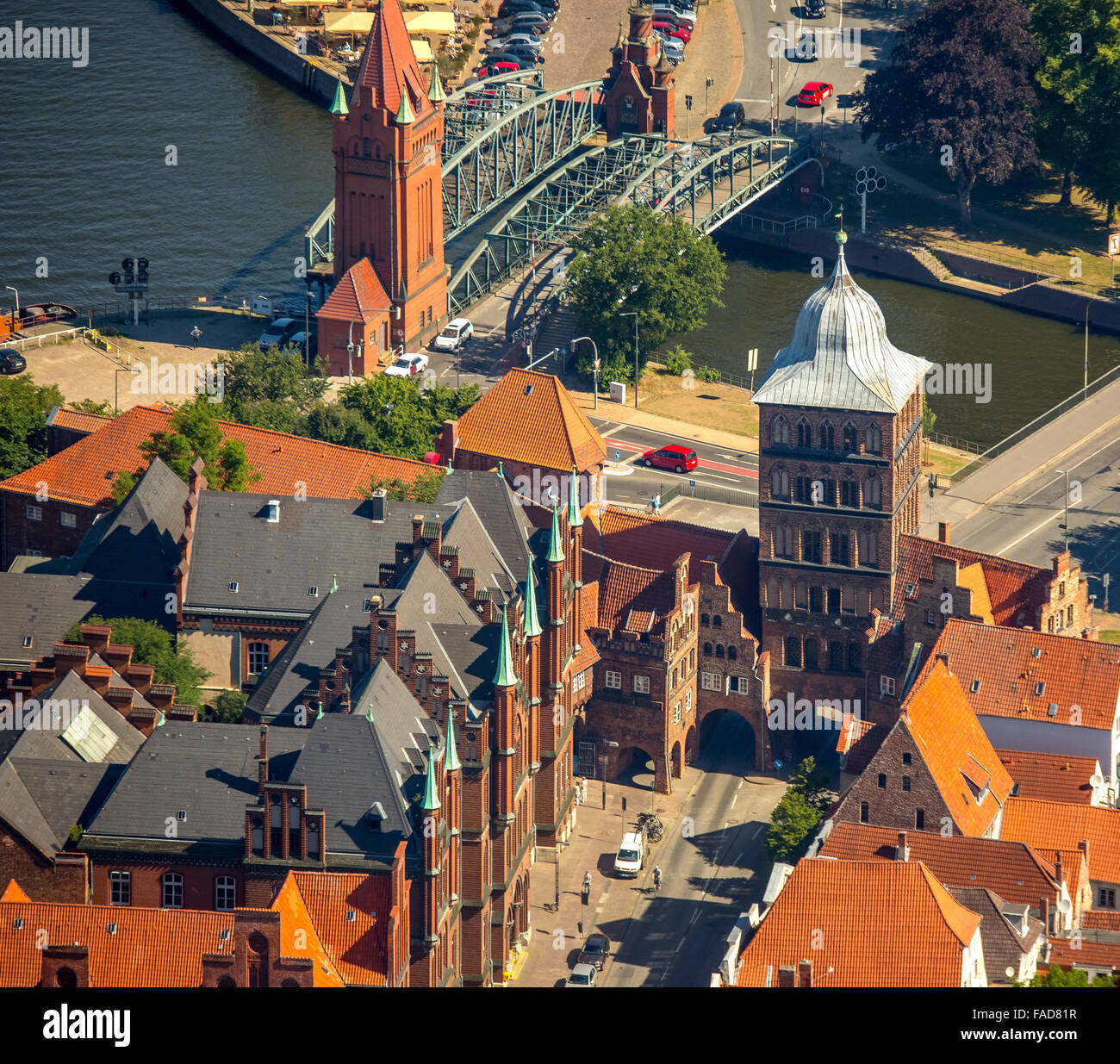 luebeck germany aerial stock photos luebeck germany aerial stock images alamy. Black Bedroom Furniture Sets. Home Design Ideas