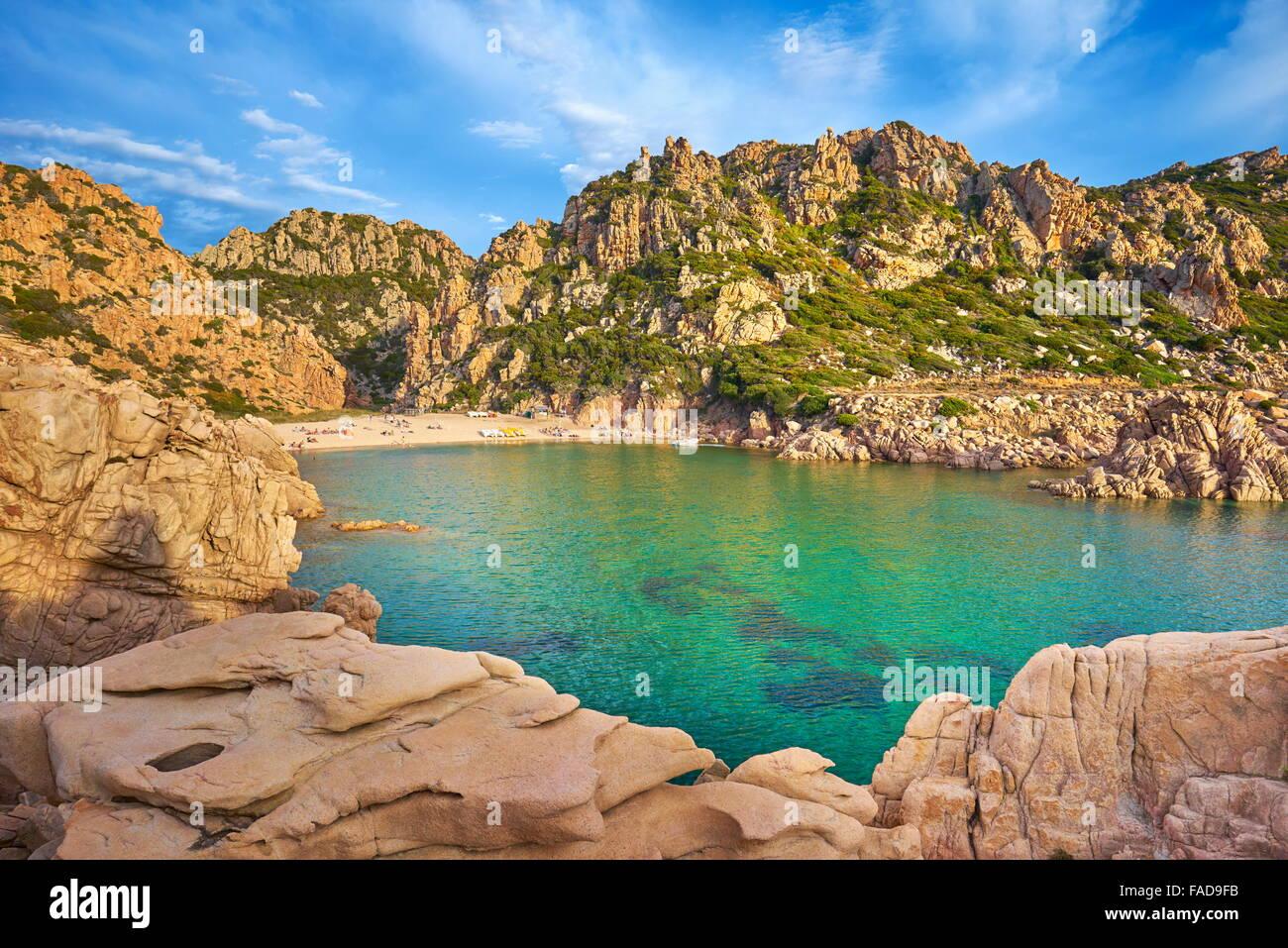Costa Paradiso Beach, Sardinia Island, Italy - Stock Image