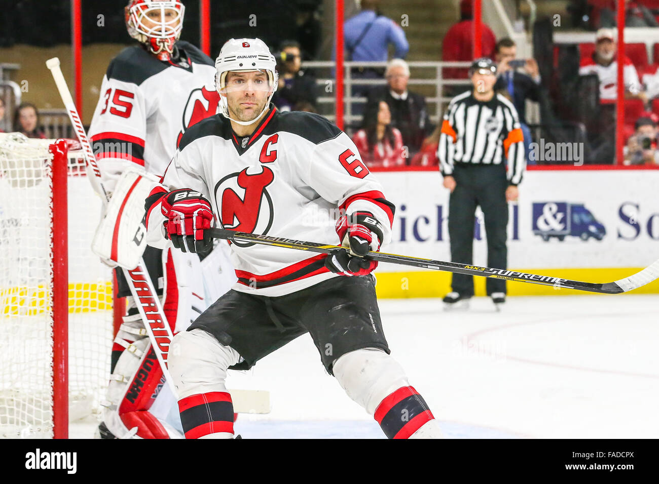new concept 4e5f1 b9935 New Jersey Devils defenseman Andy Greene (6) during the NHL ...