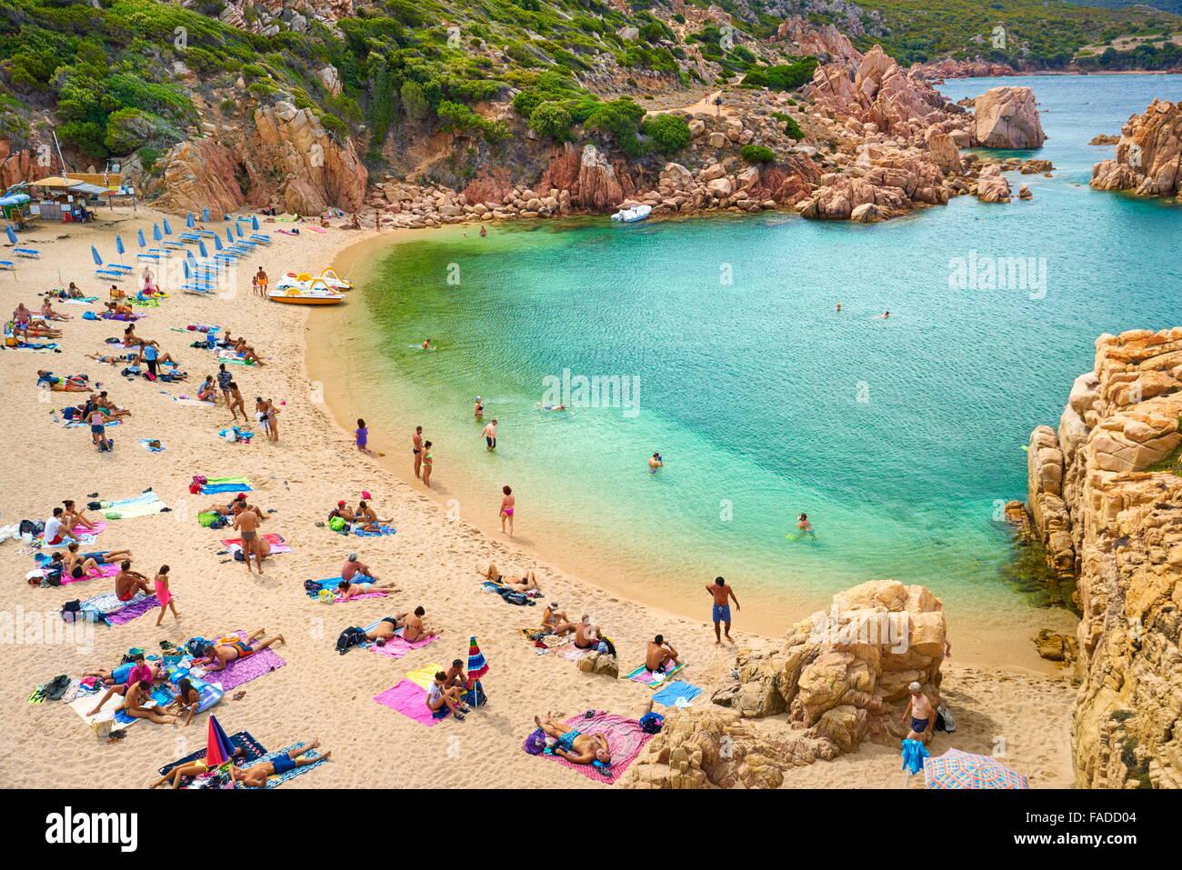 Sardinia Island - Costa Paradiso Beach, Italy - Stock Image