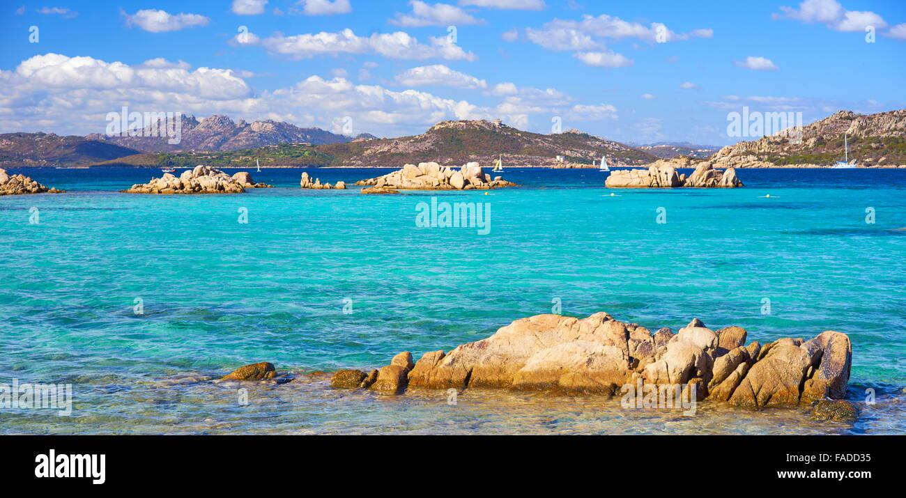 La Maddalena Archipelago National Park, Caprera Island, Sardinia, Italy - Stock Image
