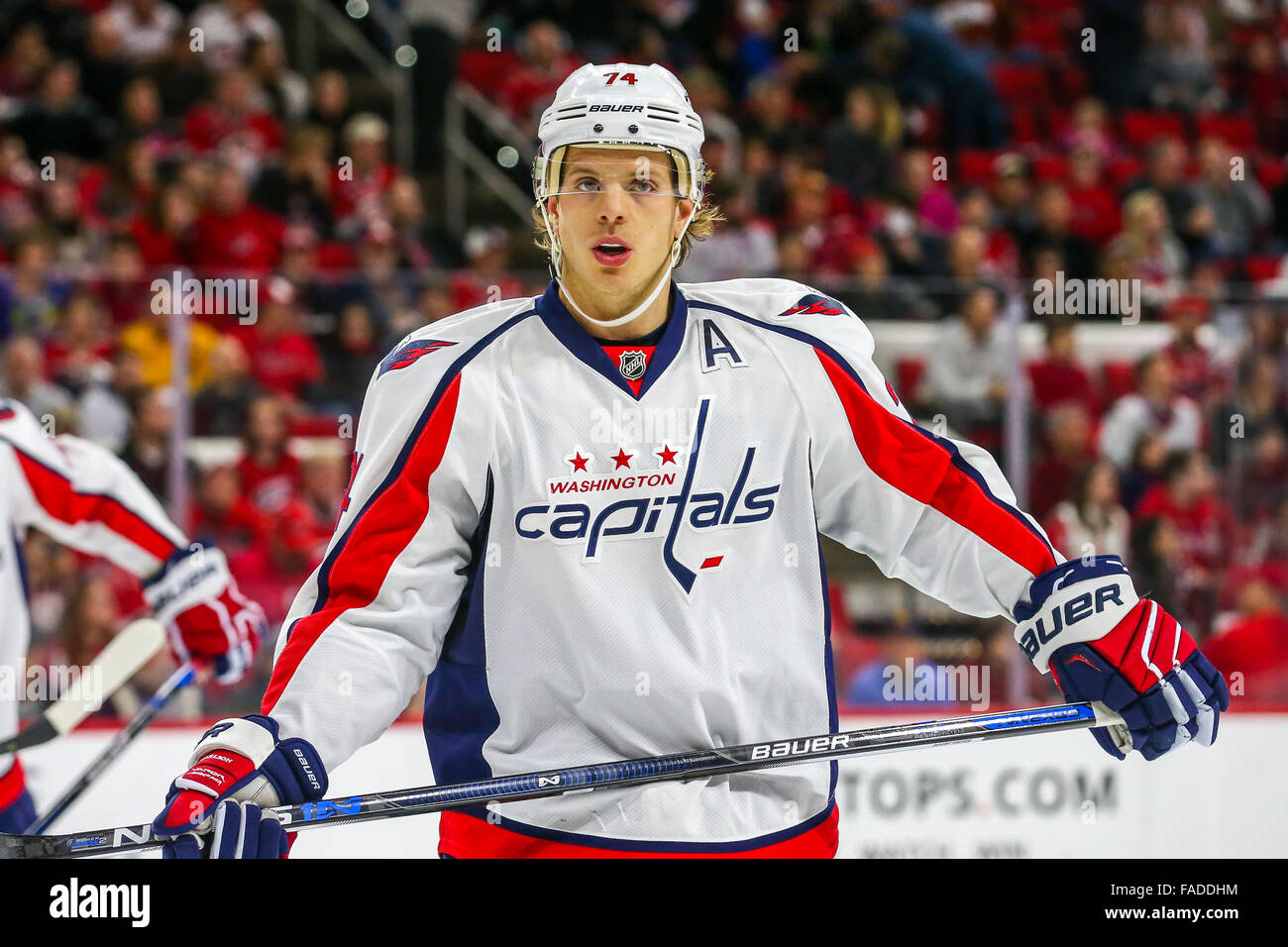 Washington Capitals defenseman John Carlson (74) during the NHL game  between the Washington Capitals and the Carolina Hurricanes at the PNC  Arena. 1a49b50c3cd