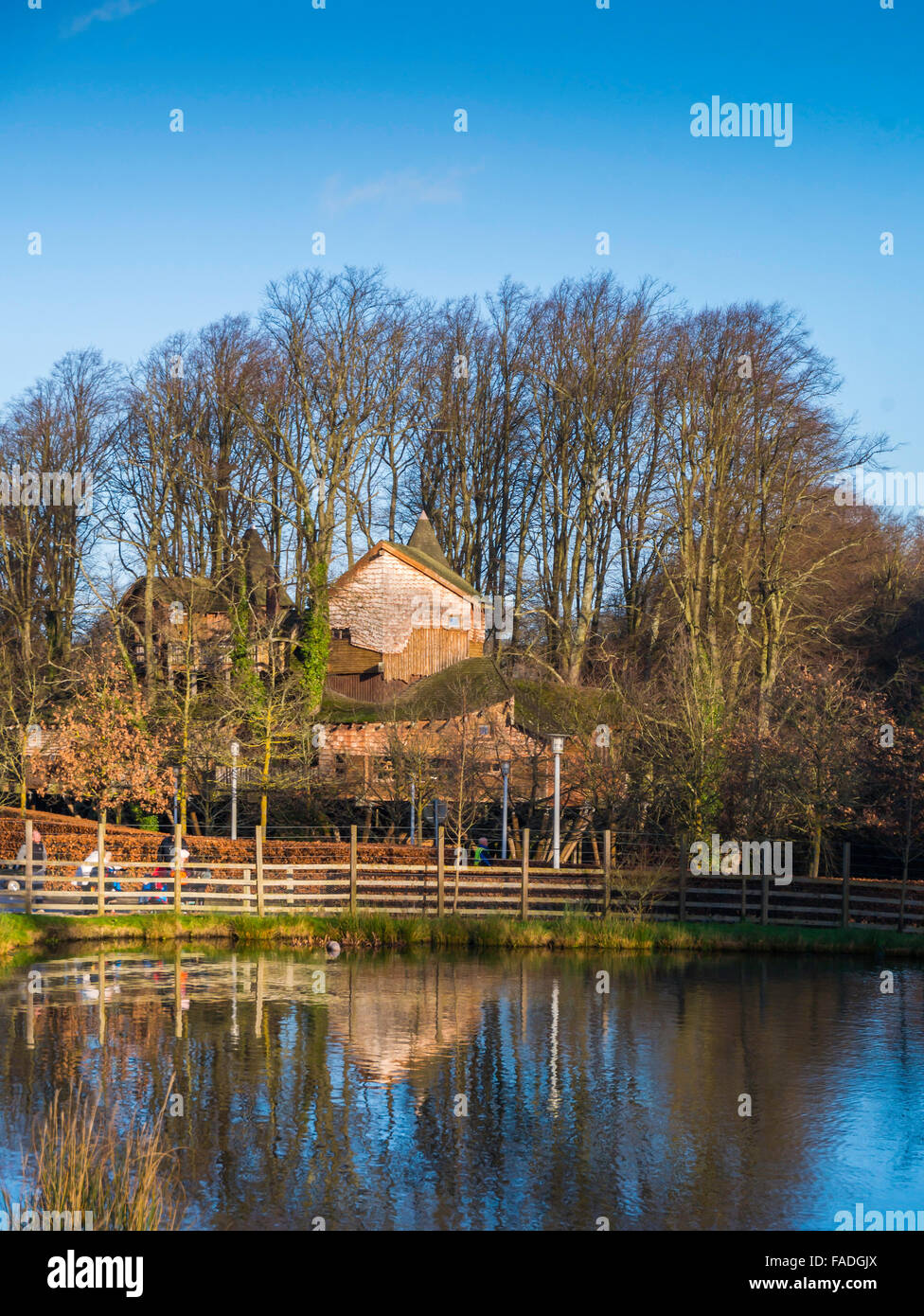 The Treehouse in Alnwick Castle Garden built high in a copse of ...