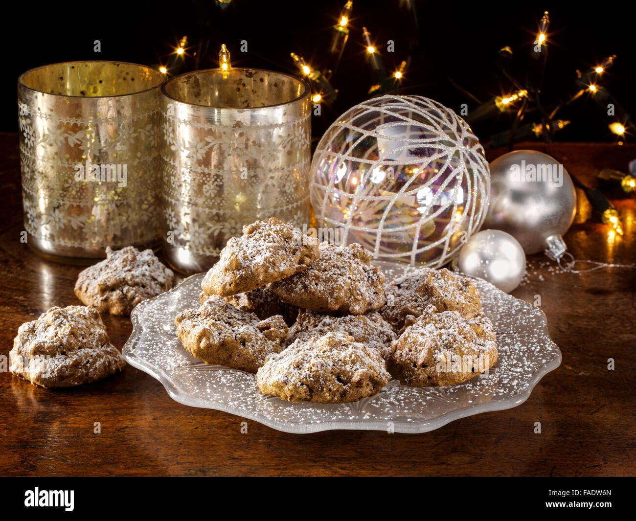 Pecan Praline cookies - Stock Image