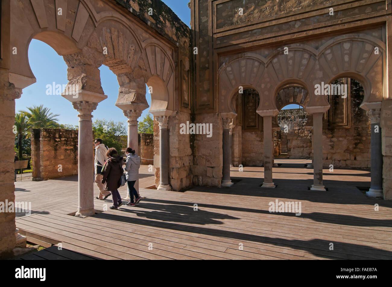 Basilica, Al Madinah Azahara, Cordoba, Region of Andalusia, Spain, Europe, - Stock Image