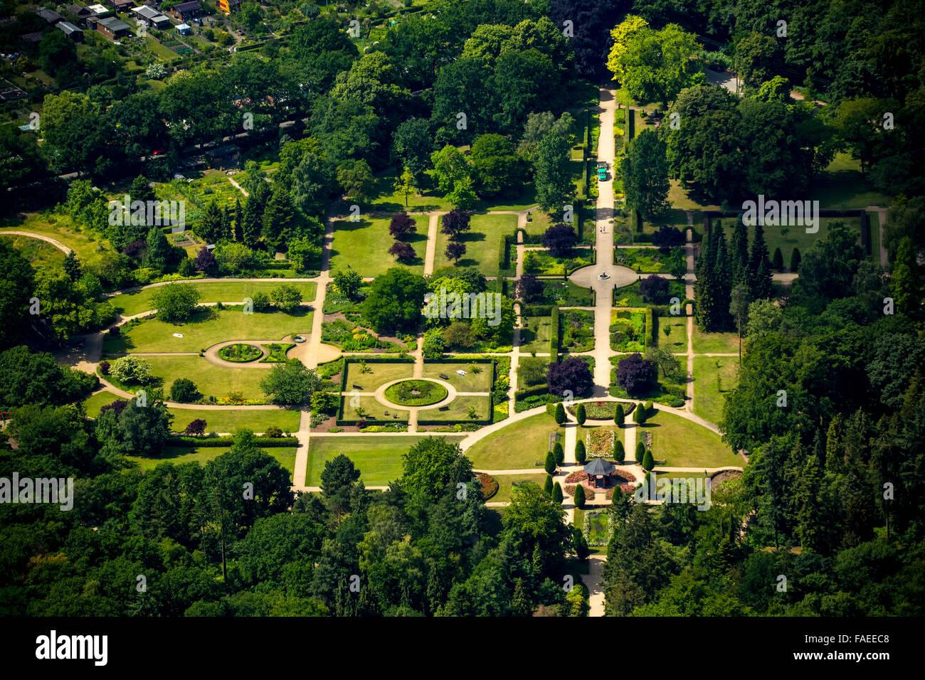 Aerial view, Volkspark Hamburg, Volkspark Altona, Hamburg, Free and Hanseatic City of Hamburg, Hamburg, Germany, - Stock Image