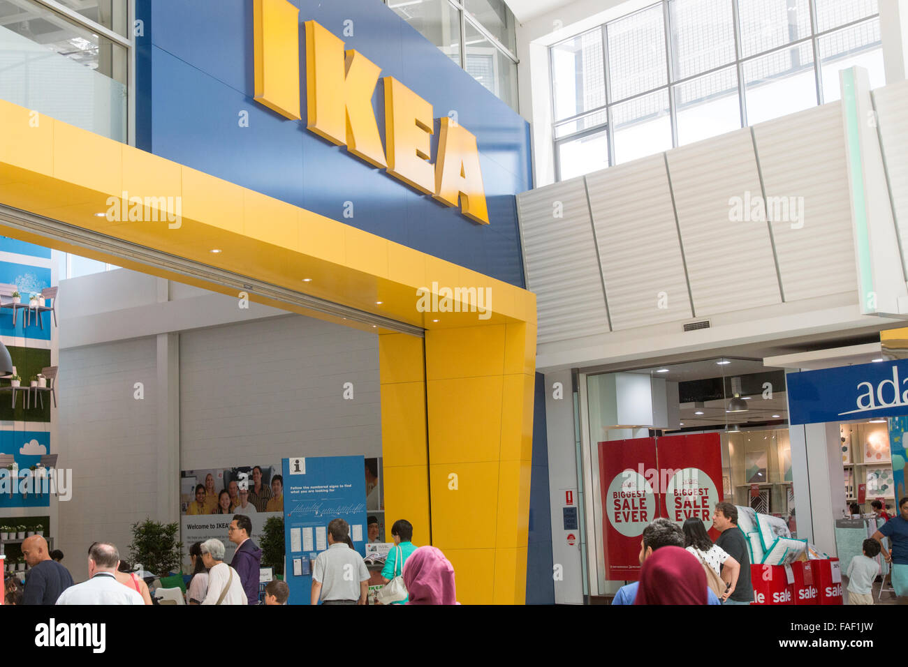 Ikea Furniture Store At Rhodes Shopping Centre In Sydney New