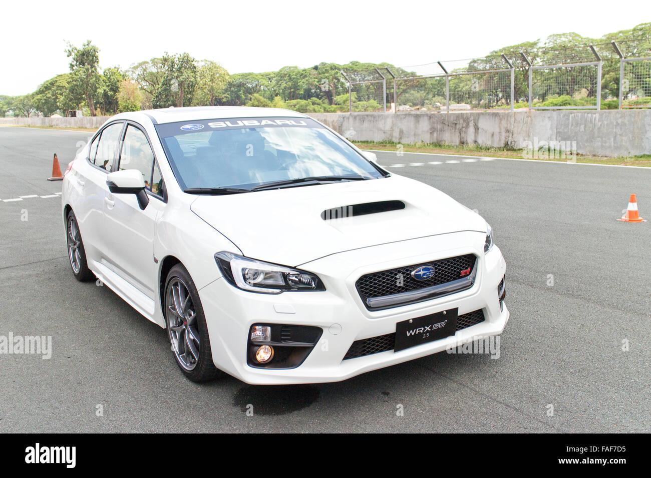 Subaru Wrx Sti Car Stock Photos & Subaru Wrx Sti Car Stock Images ...