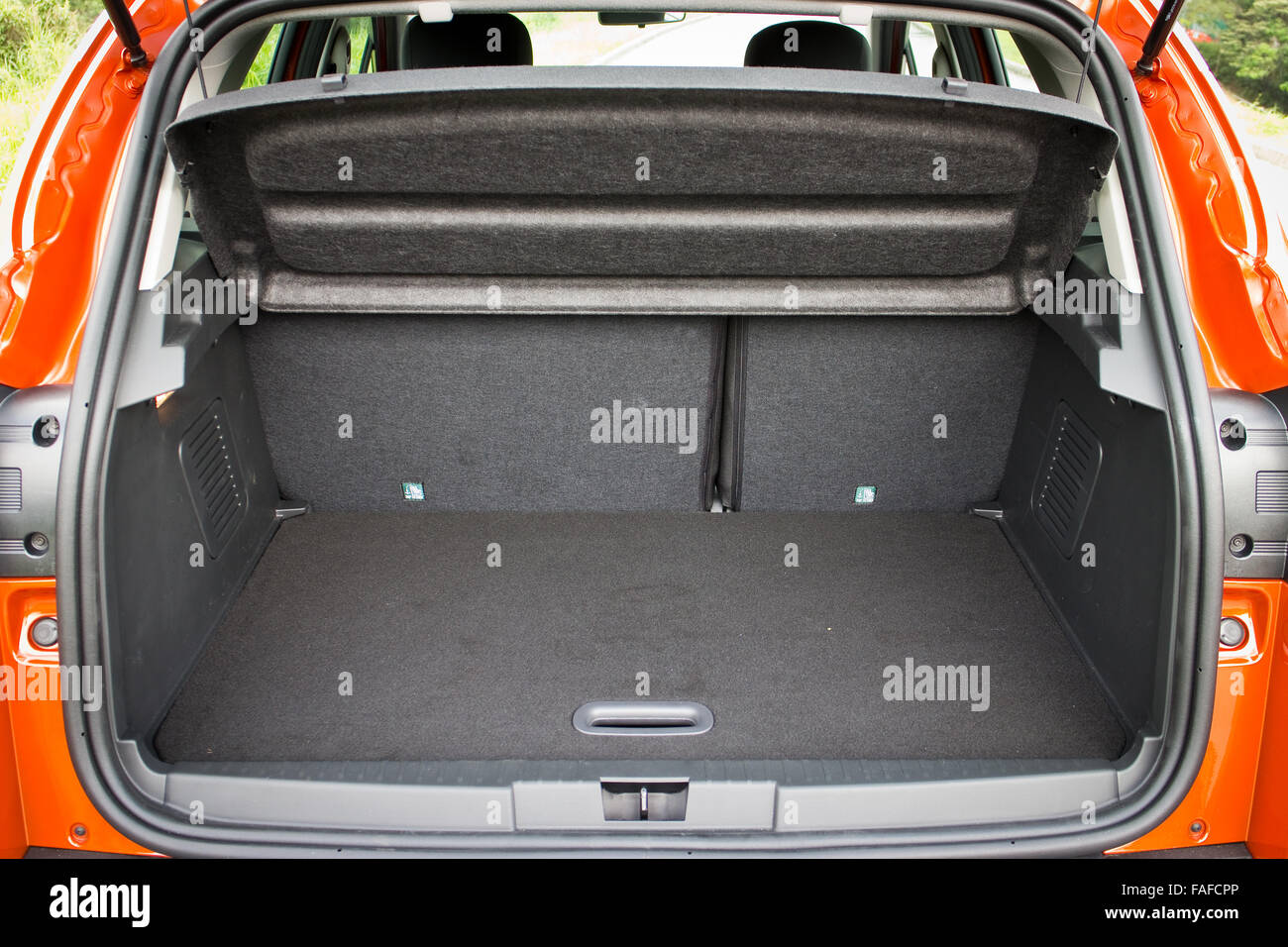 Small Size SUV Car Trunk - Stock Image