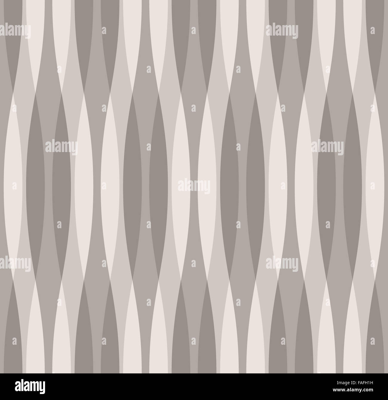 Shades of Gray Abstract Wavy Background - Stock Image