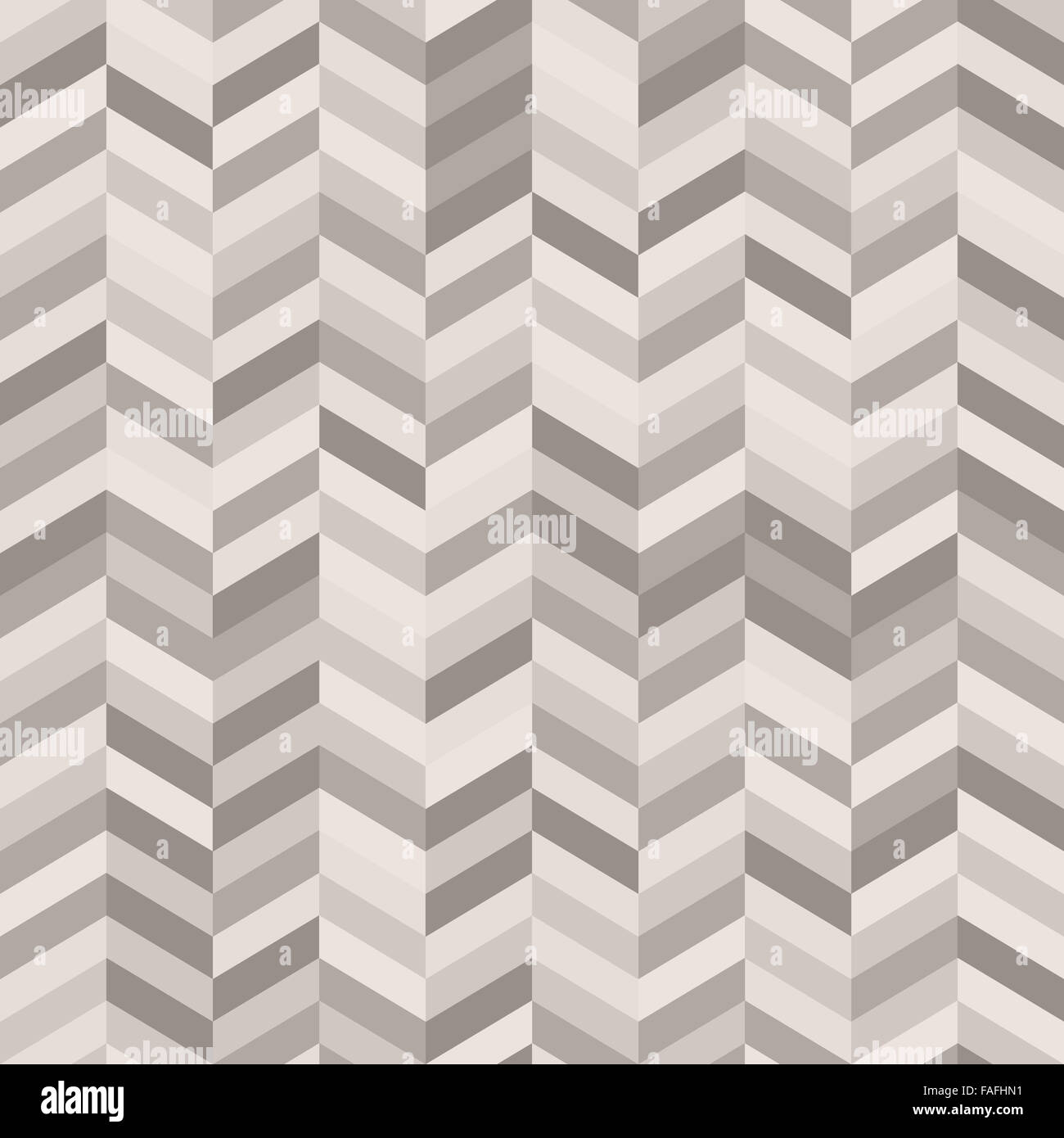 Zig Zag Abstract Background in Shades of Warm Gray - Stock Image